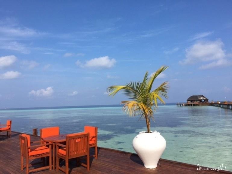 Olhuveli Beach and Spa Resort restaurant
