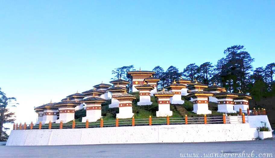 Dochula road trip in Bhutan