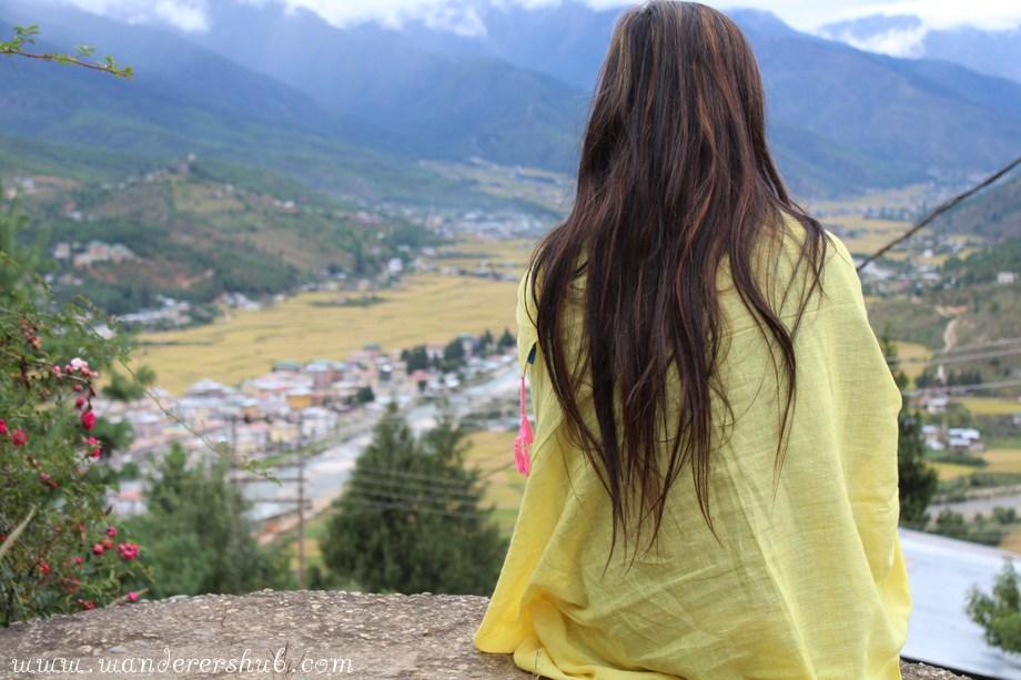 Paro town - bhutan road trip