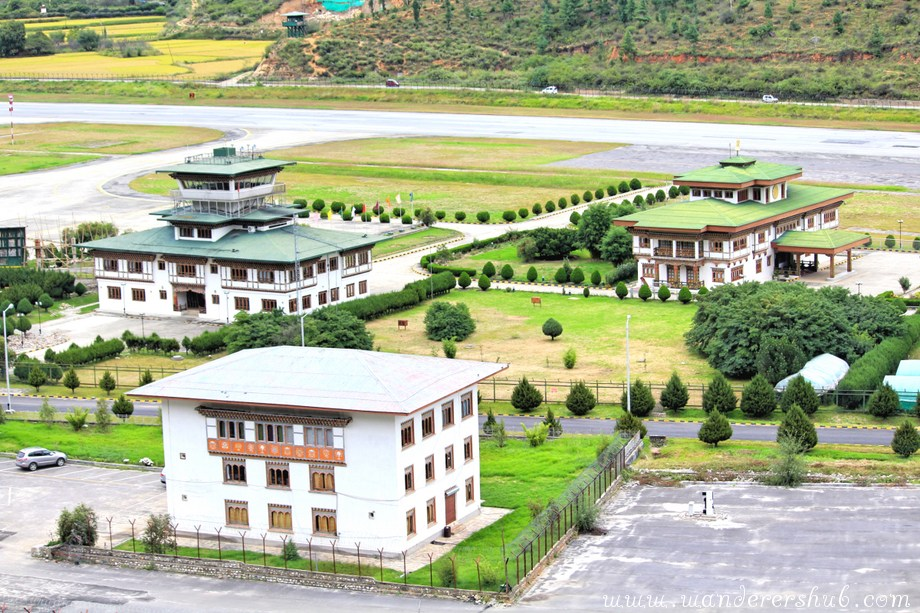Paro Airport in Bhutan picture