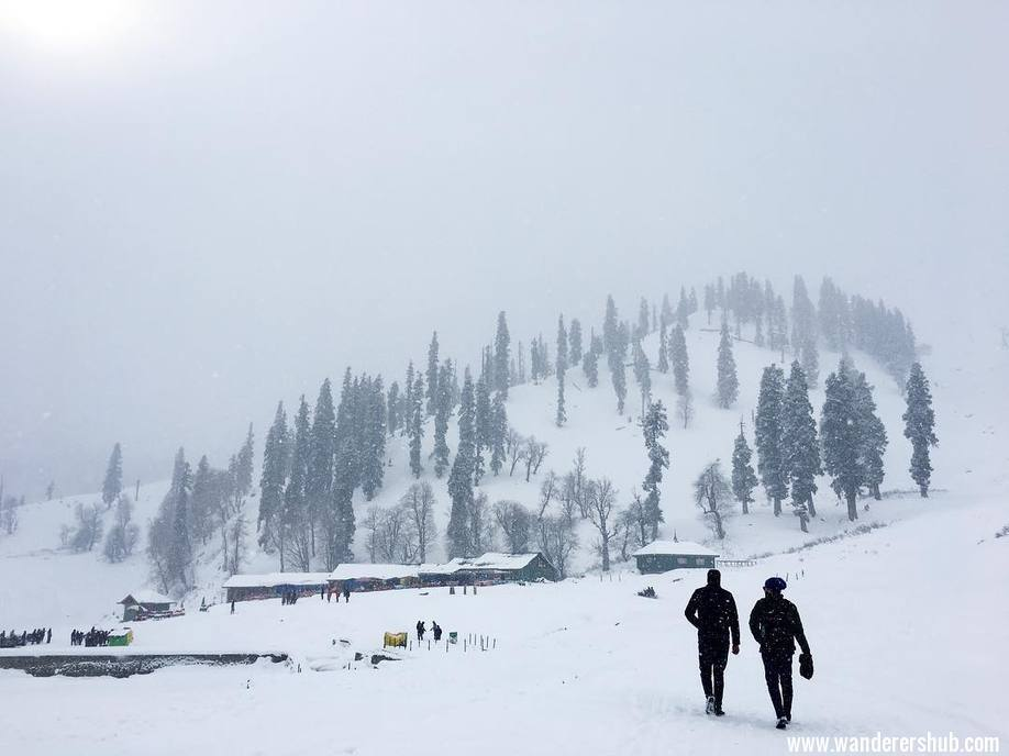 Gulmarg beauty- Kashmir tourist places