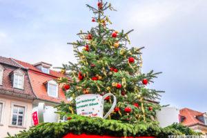 Christmas Market of Heidelberg Germany