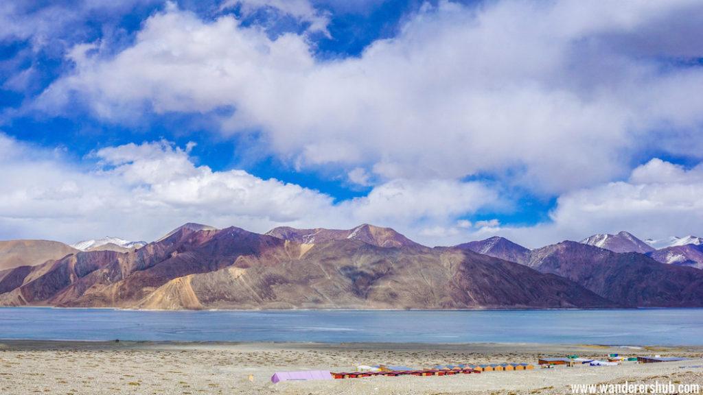 Leh Ladakh road trip to pangong Lake