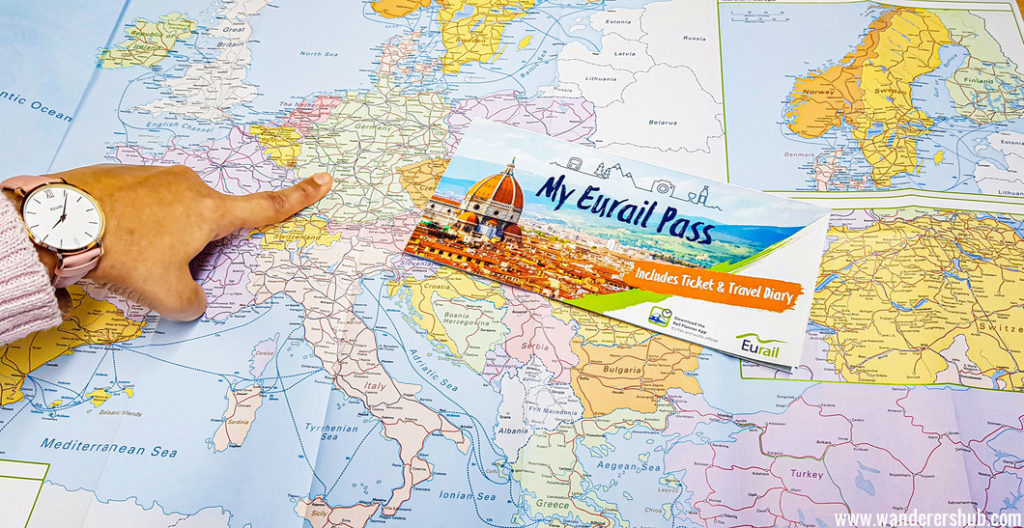 Eurail global passes itinerary