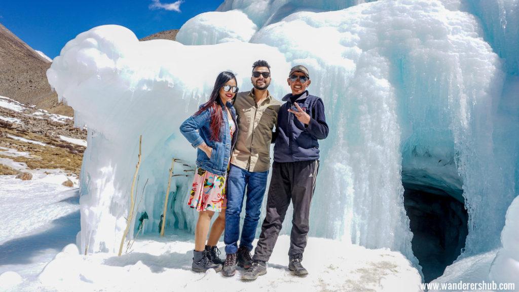 Ice cafe in Ladakh