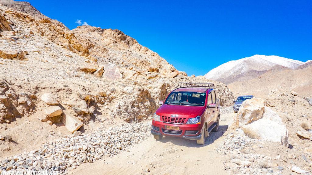 Ice stupa in Ladakh