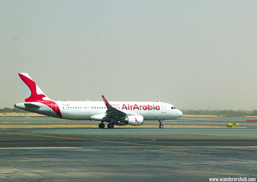 Air Arabia flight experience
