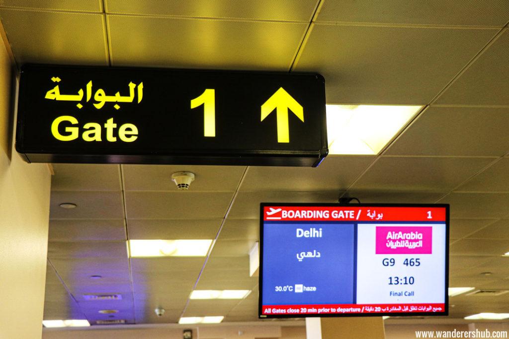 Air Arabia flight review