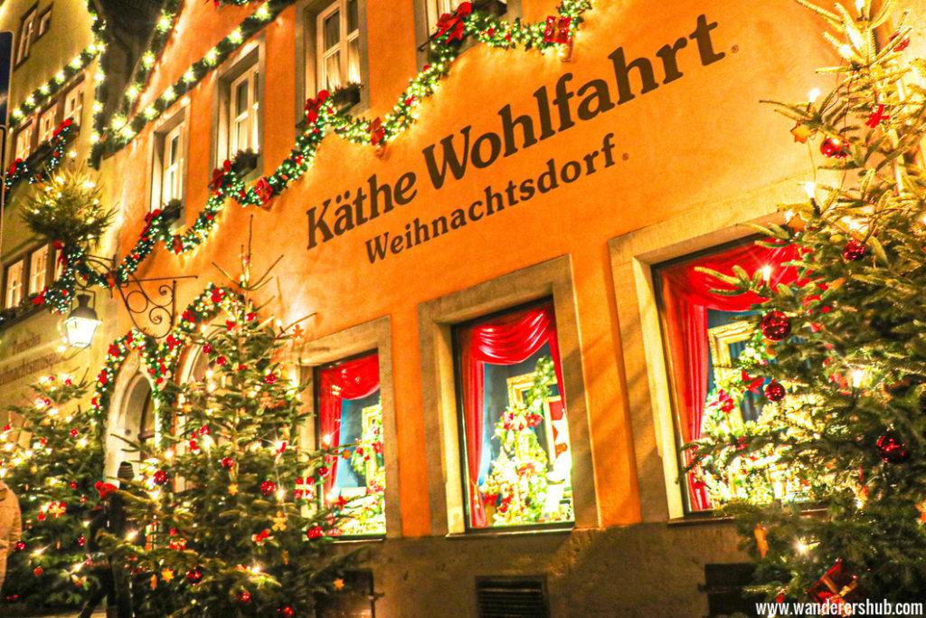 Rothenburg Christmas Market Germany